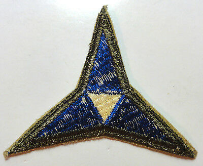 III Corps Shoulder Patch -- OD Border -- Original World War II