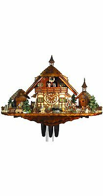 Cuckoo Clock of the year 2012 Farm of the goatherd from August.. 5.8878.01.P NEW