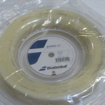 Babolat Synthetic Gut 1.30mm/16  200m Reel Tennis String -  Colour is Natural