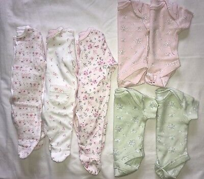 Tiny Baby/ Premature Baby Girls Bundle
