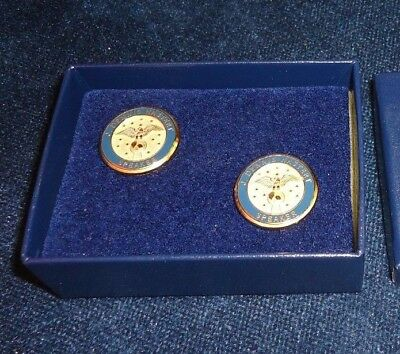 "J Dennis ""denny"" Hastert Speaker Of The House Of Representatives Cufflinks W/box"