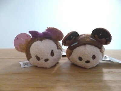 NWT TSUM TSUM Plush Mini Mickey and Minnie Mouse Donut Sprinkle Set Target