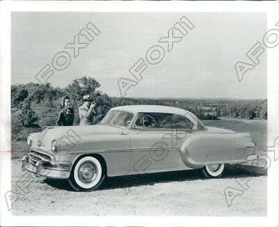 1953 New 1954 Star Chief Custom Catalina Pontiac 11 Inches Longer Press Photo