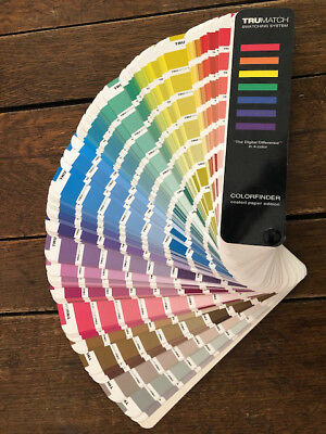TRUMATCH Swatching System Colorfinder for Coated Paper