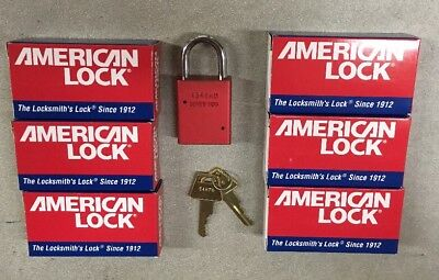 American Lock A1105Red Series Locks Lot Of 6 Locks