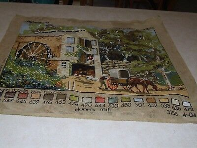 Completed Tapestry - Baxtergrafik - Dunn's Mill