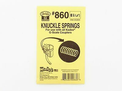 Knuckle Springs For All G-Scale Model Train Couplers - Kadee #860 < vmf121