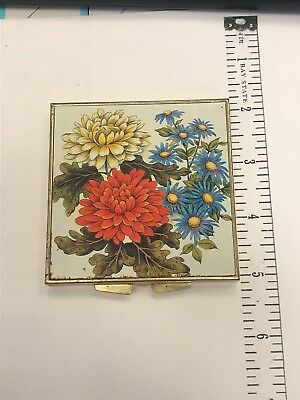 vintage compact case sewing kit