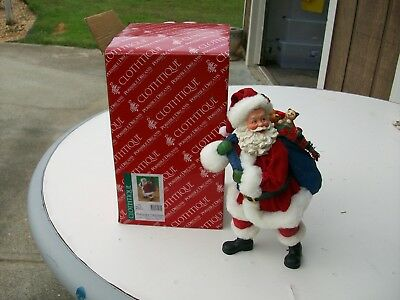 Possible Dreams Clothtique #71089 Bag Of Buddies Santa 2004