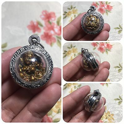 Beautiful Mae Thorani Mother of Earth Goddess Thai Amulet Luck Rich Protect