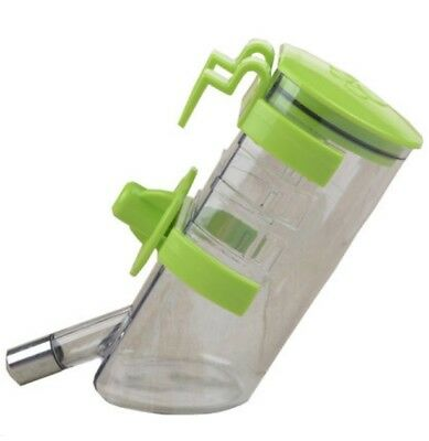 E25 Portable Automatic Pet Dog Rabbit Drinking Bottle Mug Water Feeder 500ML Q