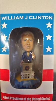 William J. Bill Clinton Bobblehead from Presidential Center Library New
