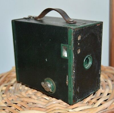 RARE Green Kodak Brownie no2 F.
