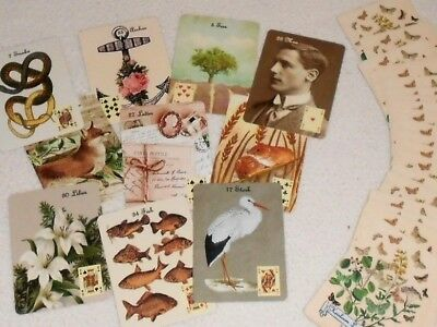 Heirloom Lenormand No Border Fortune Telling Cards by Lynn Boyle. Brand New