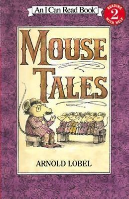 NEW Mouse Tales By Arnold Lobel Paperback Free Shipping