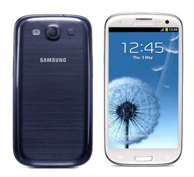 "Unlocked Smartphone 4.8"" Samsung Galaxy S3 I9300 3G GSRM Android 16GB 8MP - blue"