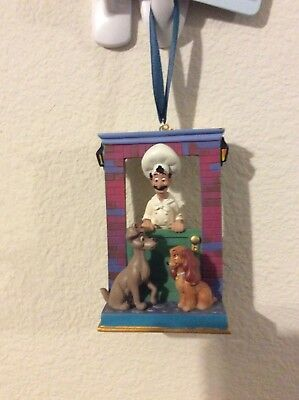 Disney Sketchbook Christmas Tree Ornament Lady And The Tramp 2015
