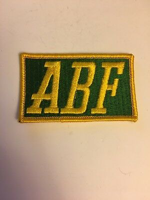 3 1/4 inch by 2 inch ABF Freight Company Patch