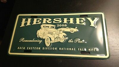 Hershey AACA Eastern Division National Fall Meet 2008 LIcense Plate ANTIQUE AUTO