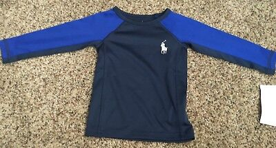 Blue Baby Boy Ralph Lauren Rashguard-New with Tags! 12M
