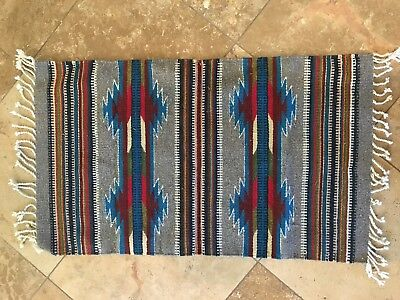Zapotec Mexican Indian rug