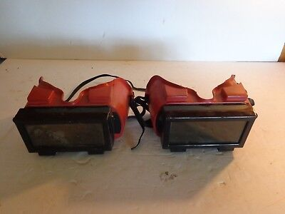 Two Vintage Jackson Products Welding Goggles, Steampunk, No Reserve
