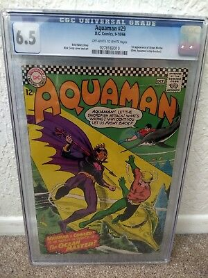 Aquaman (1st Series) #29 1966 CGC 6.5, First Ocean Master Orm Appearance, Movie