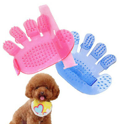 Hot Grooming Glove For Pet Dog Hair Deshedding Brush Comb Glove For Dog Cleaning