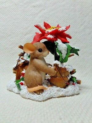 """Fitz & Floyd Charming Tails """"You Add Color To The Season"""" Item 87/156"""