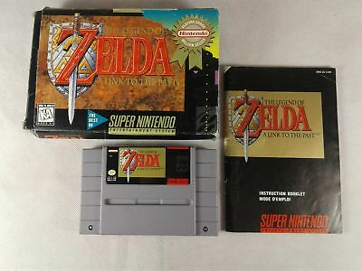 The Legend of Zelda: A Link to the Past [CIB Complete in Box] (SNES)
