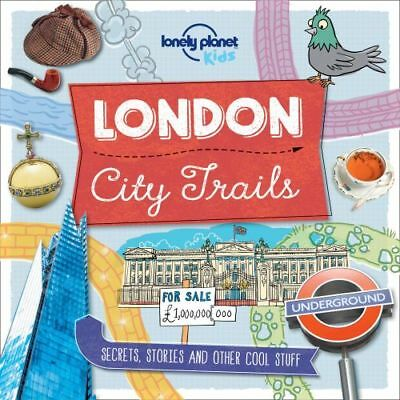NEW City Trails - London By Lonely Planet Kids Flexi Bound Book Free Shipping
