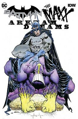 Batman The Maxx #1 (Of 5) Arkham Dreams Cvr B Kieth - 10/3/18