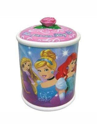 "Walt Disneys Princesses ""Make Your Own Fairy Tale"" Ceramic Cookie Jar, NEW BOXED"