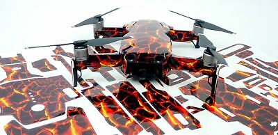 Lava Rock Drone Decal Skin Wrap Stickers for DJI Spark, DJI Mavic Air, DJI Mavic