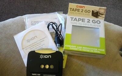 iON Tape 2 Go Tape to MP3 Player Digital Audio Music Converter