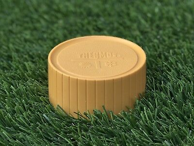 THERMOS Replacement King Seeley Cup / Cap / Lid 72A63 Orange Fits Pint Size 7202
