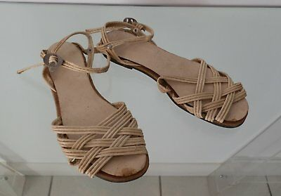 Rares Chaussures Blanches Femme  Occupation France 1940-1944 Vintage Shoes