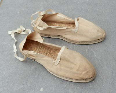 Rares Chaussures Semelle Corde Homme Ou Femme Periode Occupation 1940-45