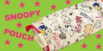 Japan Peanuts Snoopy Pouch / Bag - Heart FREE SHIPPING