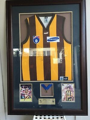 Hawthorn Football Club - 1999 Premiers Jumper and Brownlow Medalist Plaque!