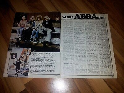 ABBA article from Norway