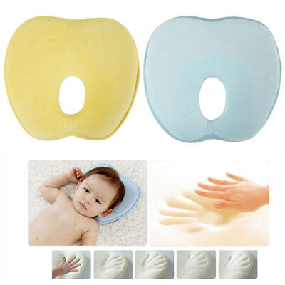 Baby Infant Newborn Memory Foam Pillow Head Rest Support Neck Sleep Cushion AU