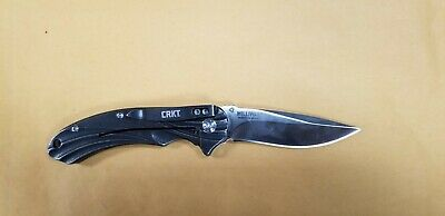 Crkt 6016 Williwaw Jim Hammondikbs Bearing System Folding Knife