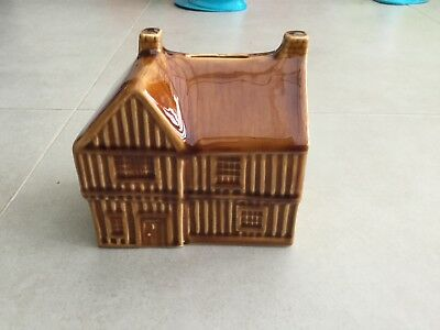 Vintage Holkham Pottery House Moneybox