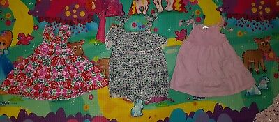 Baby Girls Dress And Romper Bundle Size00
