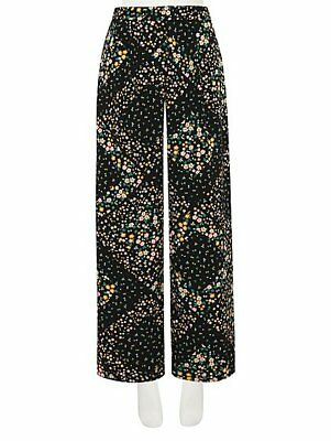 George Floral & Printed TWO Pairs of Palazzo Trousers Size UK12/EUR40 BNWT