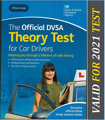 Theory Test Car Drivers Book for 2019 Official  DVSA Driving Tests DVLA thryBk