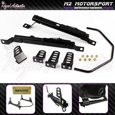 Low Mount Bucket Seat Frame Rail Mount Subframe for Nissan 350z Right Driver