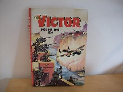 The Victor Book For Boys 1970 Annual Hard Cover Unclipped