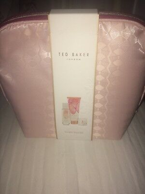 Ted baker floral fancies gift bag set new